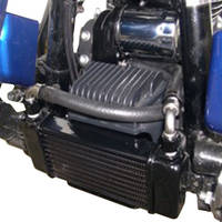 Jagg 10-Row Horizontal Low-Mount Oil Cooler