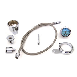 Rocker Box Oil Pressure Gauge Kit for Twin Cam