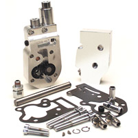 JIMS Polished Oil Pump Assembly for Big Twin
