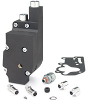 JIMS Black Oil Pump Assembly for Big Twin