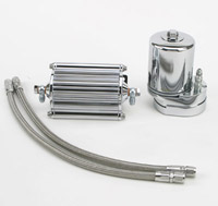 Feuling Chrome Oil Filter and Oil Cooler