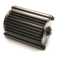 Feuling Chrome/Black Oil Filter and Oil Cooler
