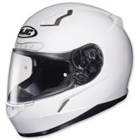 HJC CL-17 White Full Face Helmet