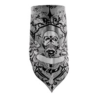 ZAN headgear Pirate Crest 3-in-1 Cotton Bandana