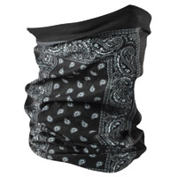 ZAN headgear Black Paisley Motley Tube