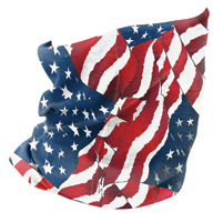 ZAN headgear Waving American Flag Motley Tube
