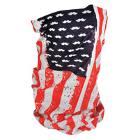 ZAN headgear Vintage Flag Fleece Lined Motley Tube