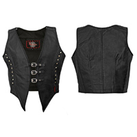Milwaukee Motorcycle Clothing Co. Women′s Illusion Vest