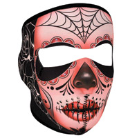 ZAN headgear Sugar Skull Neoprene Face Mask