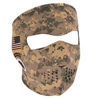 ZAN headgear U.S. Army Combat Uniform Neoprene Face Mask