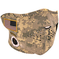 ZAN headgear U.S. Combat Uniform Neoprene Half Mask