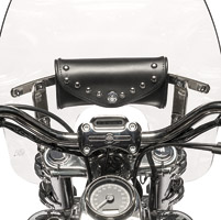 Willie & Max Studded Low Mount Windshield Bag