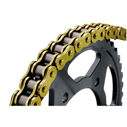 BikeMaster Gold 530 O-ring Chain, 130 Link