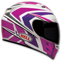 Bell Vortex Grinder Pink/Purple Full Face Helmet
