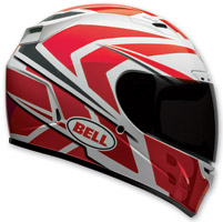 Bell Vortex Grinder Red Full Face Helmet