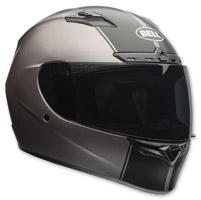 Bell Qualifier DLX Rally Matte Titanium Full Face Helmet