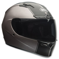 Bell Qualifier DLX Rally Matte Titanium Full Face Helmet