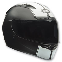 Bell Qualifier DLX Rally Matte Black/White Full Face Helmet