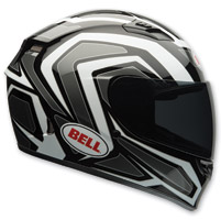 Bell Qualifier Machine White/Black Full Face Helmet