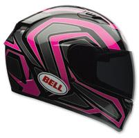 Bell Qualifier Machine Black/Pink Full Face Helmet