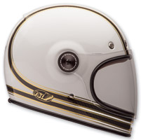 Bell Bullitt Carbon RSD Mojo White/Gold Full Face Helmet