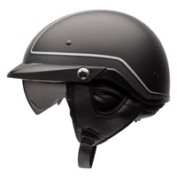 Bell Pit Boss Pin Black/Gray Half Helmet