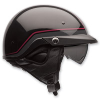 Bell Pit Boss Pin Dark Red Half Helmet