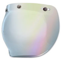 Bell 3-Snap Silver Iridium Bubble Shield
