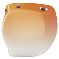 Bell 3-Snap Amber Gradient Bubble Shield