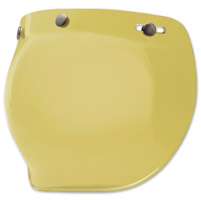 Bell 3-Snap Hi-Def Yellow Bubble Shield