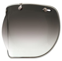 Bell 3-Snap Smoke Gradient Bubble Shield Deluxe