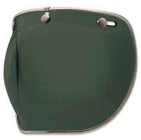 Bell 3-Snap Wayfarer Green Bubble Shield Deluxe
