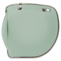 Bell 3-Snap Mint Bubble Shield Deluxe