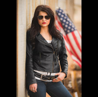 StS Ranchwear Women's Bramble Black Leather Jacket