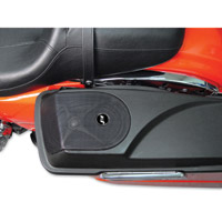 J&M Saddlebag Lid Speaker Grill Kit