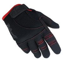 Biltwell Inc. Black/Red Moto Gloves