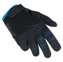 Biltwell Inc. Black/Blue Moto Gloves