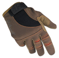 Biltwell Inc. Brown/Orange Moto Gloves
