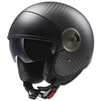 LS2 Cabrio Carbon Fiber Open Face Helmet