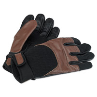 Biltwell Inc. Chocolate/Black Bantam Gloves