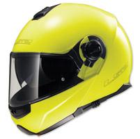 LS2 Strobe Hi-Vis Yellow Modular Helmet
