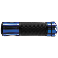 BikeMaster Blue 7/8″ Tornado Bar End Grips