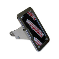 Accutronix Chrome Side Mount License Plate Kit