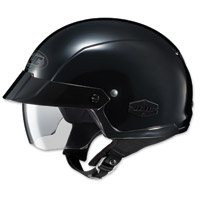HJC IS-Cruiser Solid Black Half Helmet