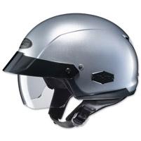 HJC IS-Cruiser Metallic Silver Half Helmet