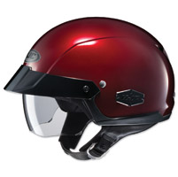 HJC IS-Cruiser Metallic Wine Half Helmet