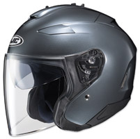 HJC IS-33 II Metallic Anthracite Open Face Helmet