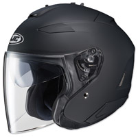 HJC IS-33 II Matte Black Open Face Helmet