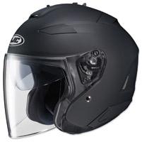 HJC IS-33 II Matte Black Open Face Helmet