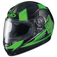 HJC CL-Y Striker Green/Black Youth Full Face Helmet